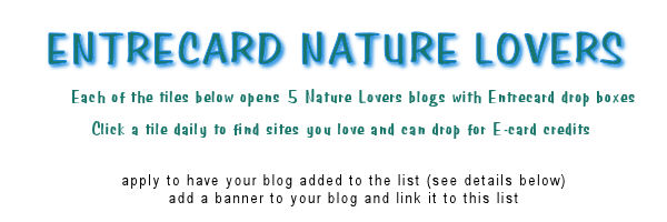 entrecard nature lovers group banner