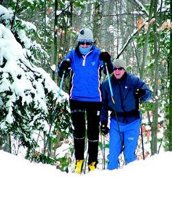 skiers at Shanty Creek