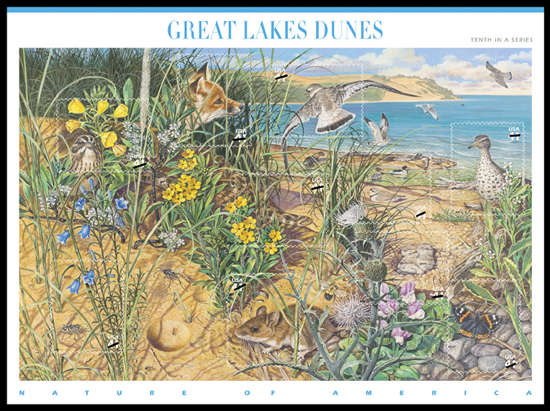 Great Lakes Dunes stamp