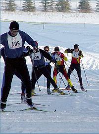ski racers
